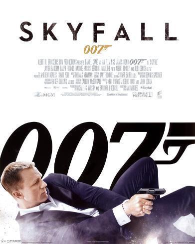 James Bond Skyfall - One Sheet Mini Poster