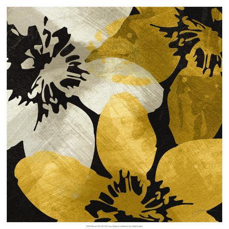 Bloomer Tile IX Art Print