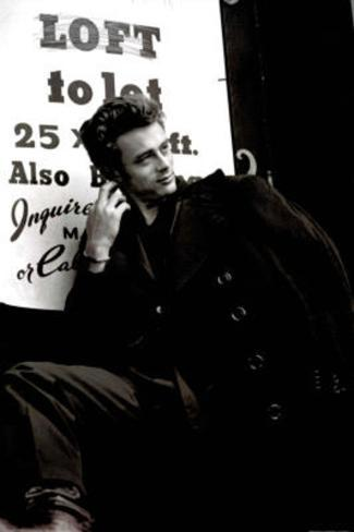James Dean (Coat) Movie Poster Print Poster