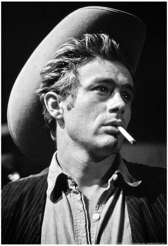 James Dean in Giant Movie Archival Photo Poster Poster