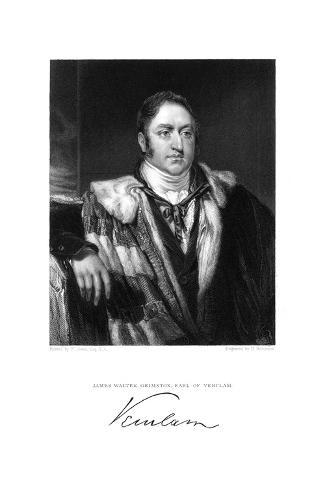 James Earl Verulam Giclee Print