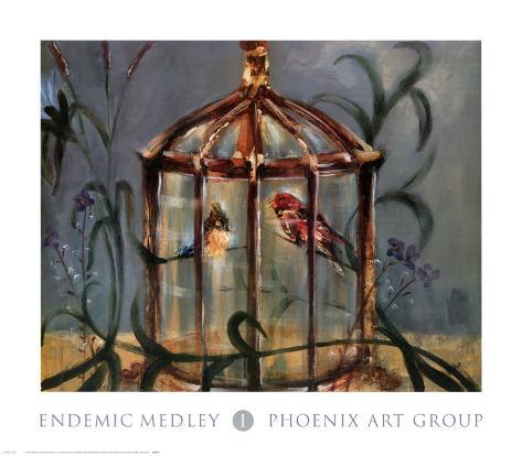 Endemic Medley I Art Print