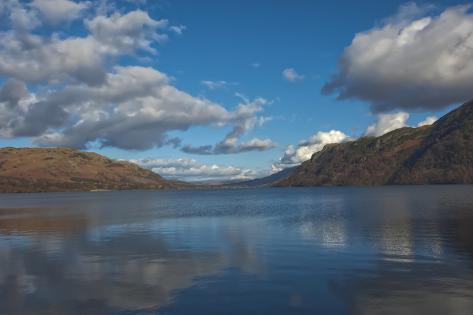Ullswater, North Lakes, Lake District National Park, Cumbria ...