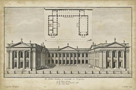 Cambridge in Perspective Art Print