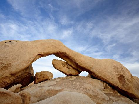The Arch at White Tank Campground, Joshua Tree National Park, California Photographic Print