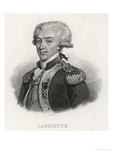 Lafayette Giclee Print