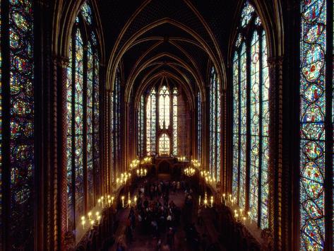 Sainte Chapelle Cathedral Interior