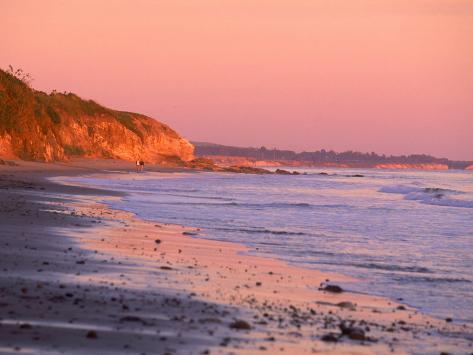 Coastline, California Photographic Print