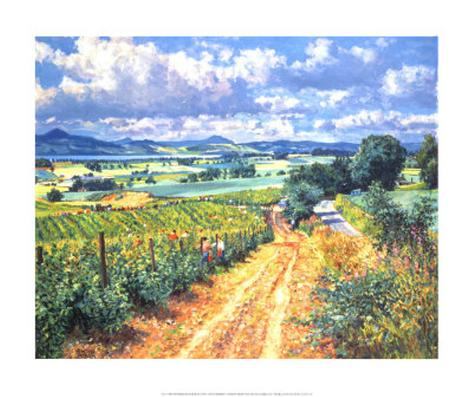 Berry Picking, Mails of Grey Art Print