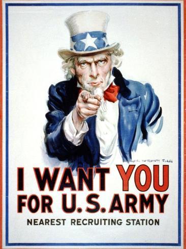 I Want You for the U.S. Army Lámina