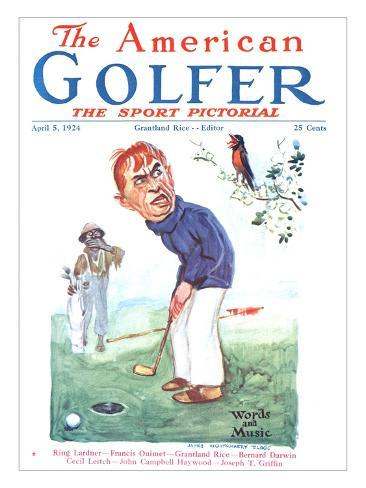 The American Golfer April 5, 1924 Giclee Print