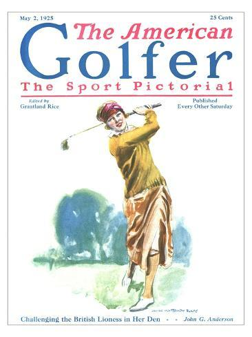The American Golfer May 2, 1925 Giclee Print