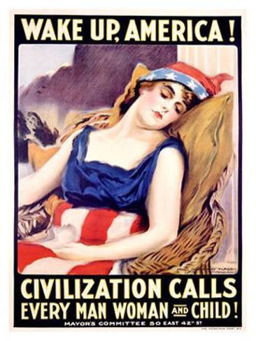 Wake Up, America Giclee Print