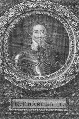 K. Charles I, 18th century Giclee Print
