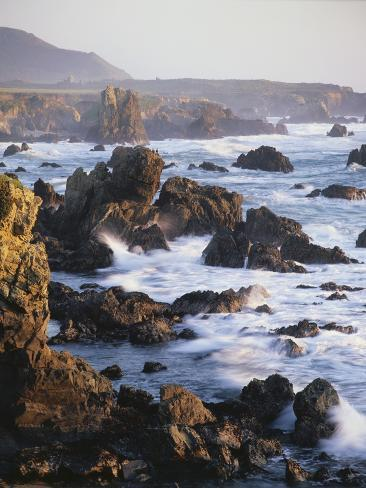 Big Sur Coastline Valokuvavedos