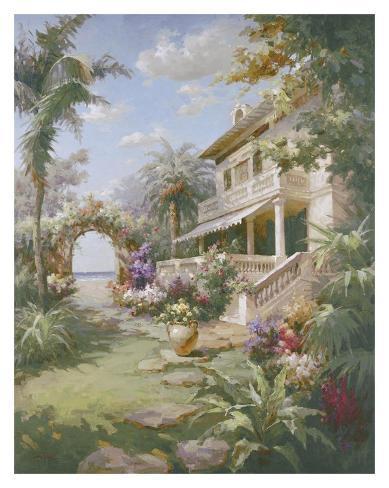 Garden Estate Art Print