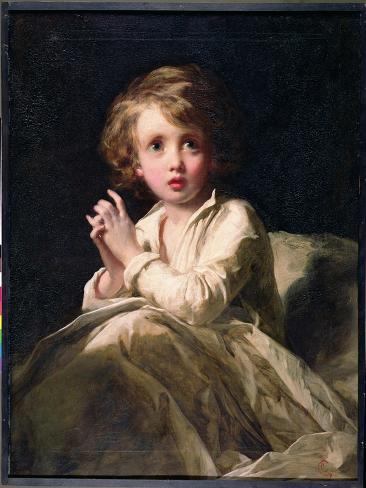 The Infant Samuel, C.1853 Lámina giclée