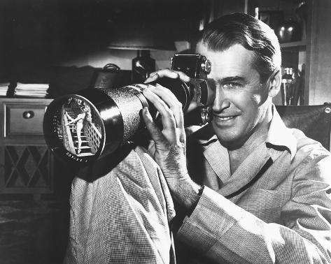 James Stewart, Rear Window (1954) Foto