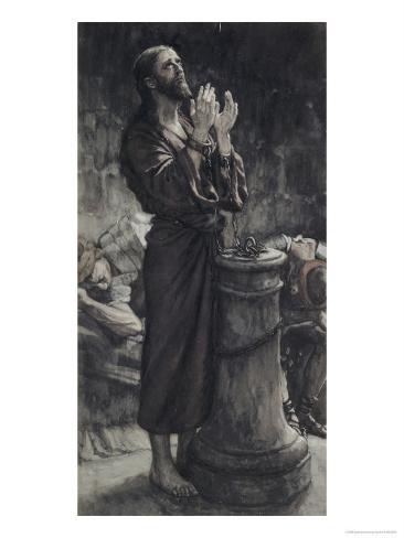 Friday Morning: Jesus in Prison Lámina giclée