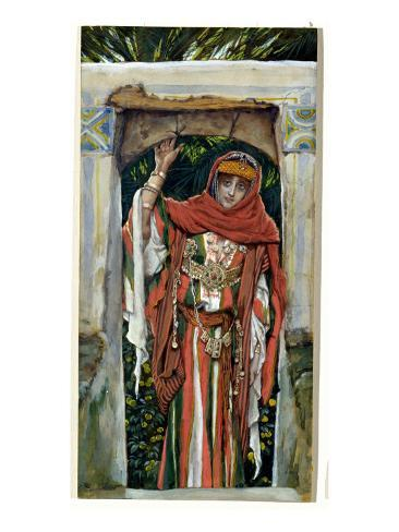 Mary Magdalene before Her Conversion, Illustration for 'The Life of Christ', C.1886-96 Giclee Print