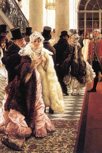 The Fashionable Woman Vinilo decorativo