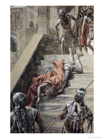 The Holy Stair Lámina giclée