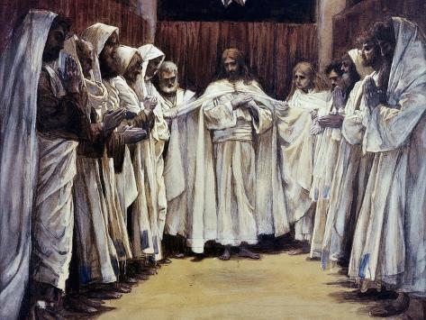 The Last Discourse of Our Lord Jesus Christ Lámina giclée