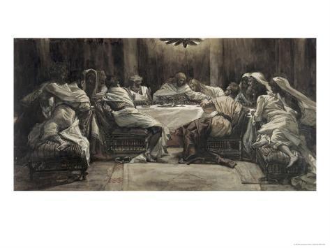 The Lord's Supper Lámina giclée