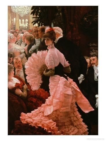 The Reception Or, L'Ambitieuse circa 1883-85 Giclee Print
