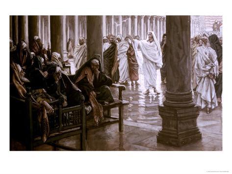Woe Unto You Scribes and Pharisees Lámina giclée