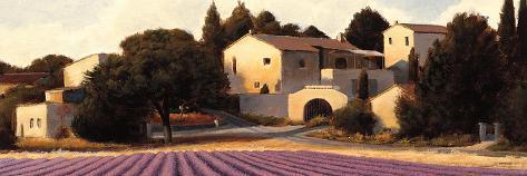 Lavender Fields Panel I Art Print