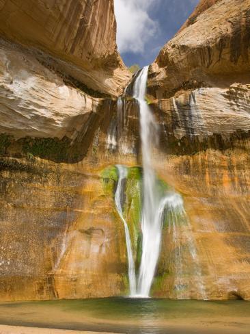 Lower Calf Creek Falls, Grand Staircase, Escalante