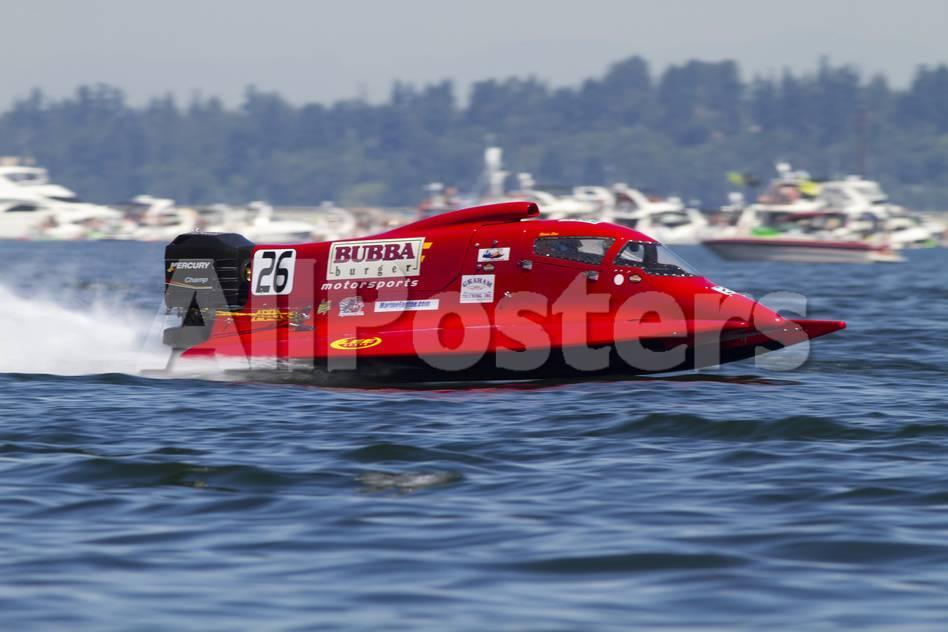 SEAFAIR, Formula One (F1) Outboard Racing Boats, Lake Washington, Seattle,  Washington, USA