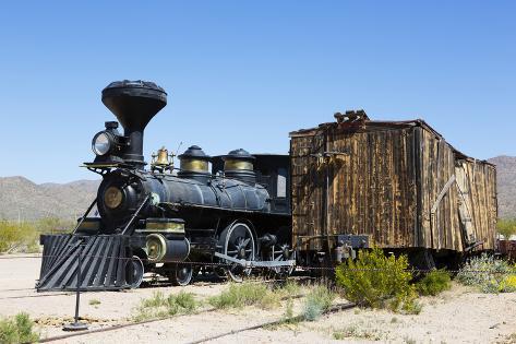 The Reno Locomotive, Old Tucson Studios, Tucson, Arizona, USA Photographic Print