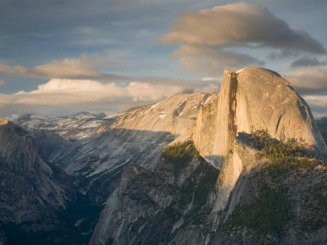 Yosemite with Half Dome. from Glacier Point. Yosemite National Park, CA Photographic Print