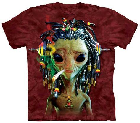 Jammin Alien T-Shirt