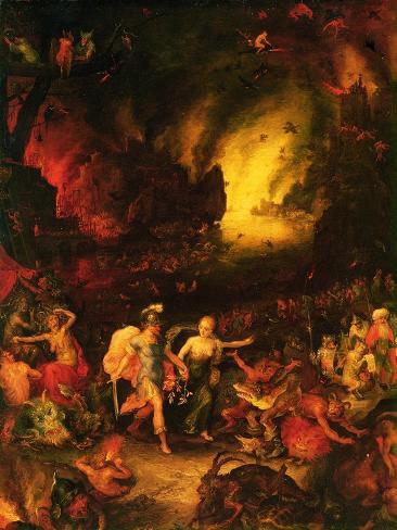 Aeneas in Hades Lámina giclée