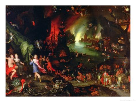 Orpheus in the Underworld, 1594 Giclee Print