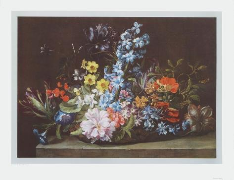 Basket of Flowers Collectable Print