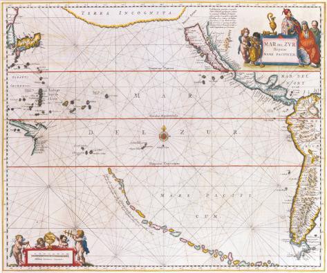 Mar del Zur, c1650 Premium Giclee Print