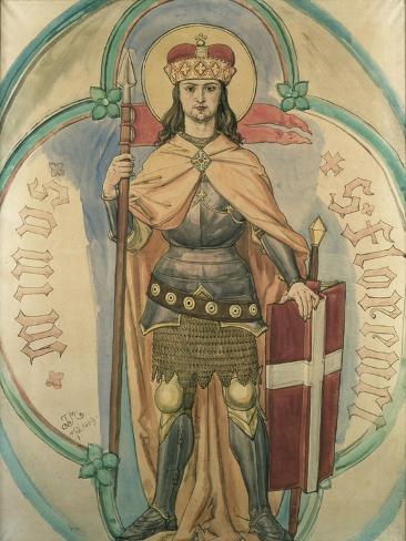 St. Florian, 1889 Giclee Print
