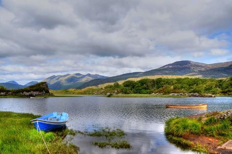 Solitude on Killarney Lakes Stretched Canvas Print