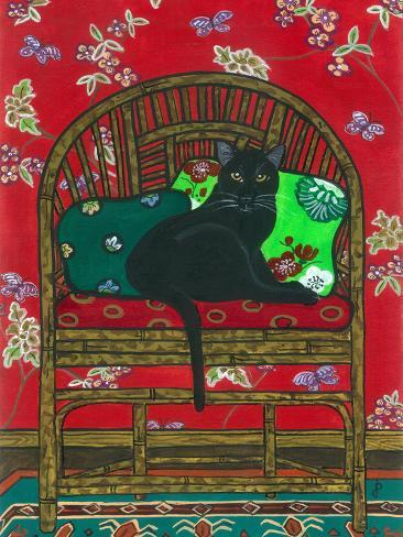 Oriental Chair Giclee Print