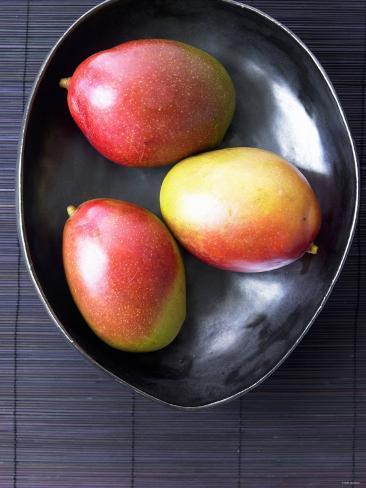Three Mangos Photographic Print