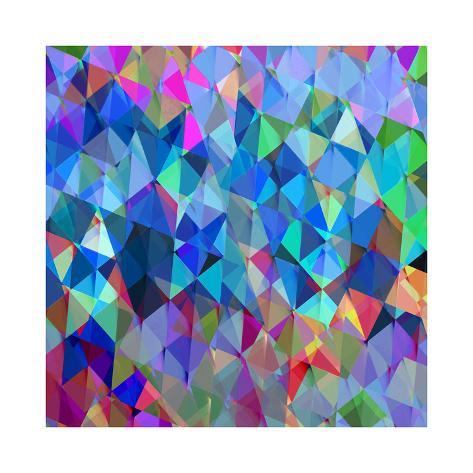 Geometric Squared IV Giclee Print