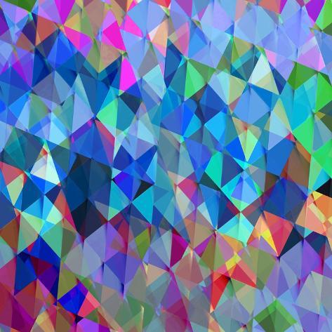 Geometric Squared IV Stretched Canvas Print
