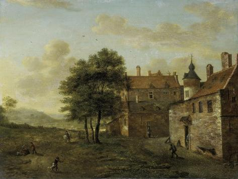 A Country House Premium Giclee Print