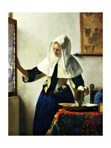 Young Dutch Woman with a Water Pitcher Giclee Print