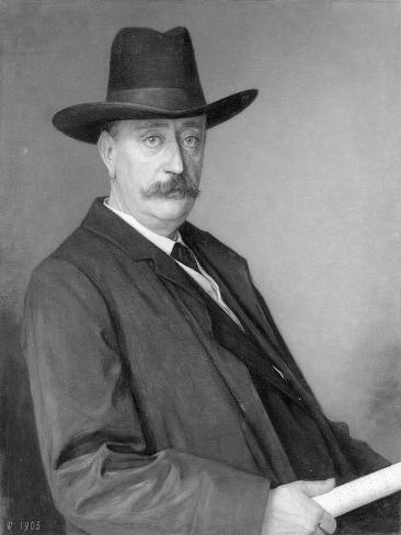 Johannes Martinus Messchaert. Zanger En Zangpedagoog Art Print