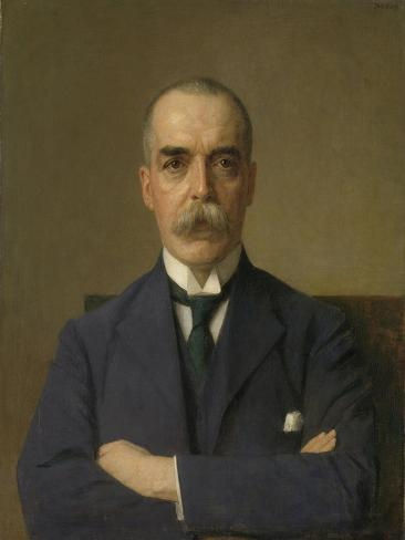 Portret Van Isaac De Bruijn Art Print